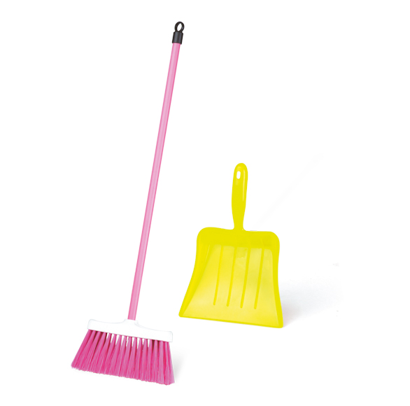 Little Broom with Dustpan