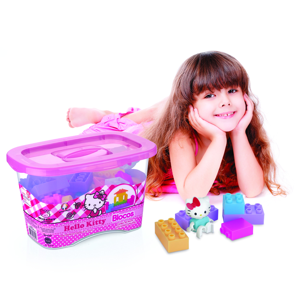 Hello Kitty Assembling Cubes 43 pieces