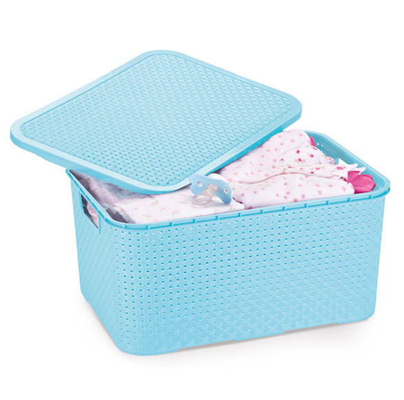 Rattan Baby Organizer Boxes 15 Liters