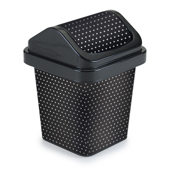 Flat Square Garbage Can
