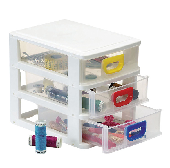 Mini Storage with 3 Drawers