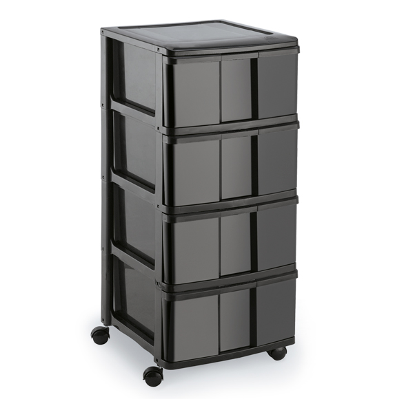 Large Holder All 4 Drawers with Wheels