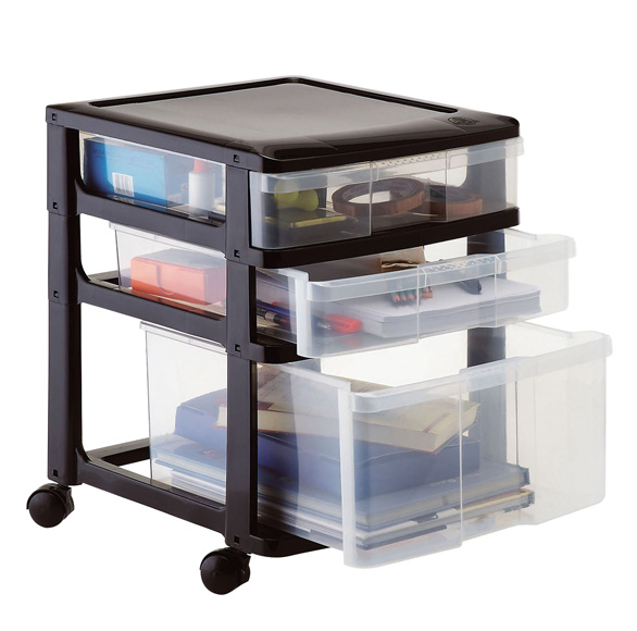 Multi Storage 1x2 Drawers (Wheels)